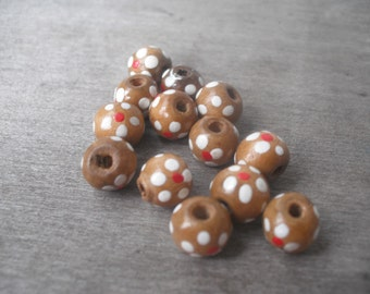 Bead destash wooden beads