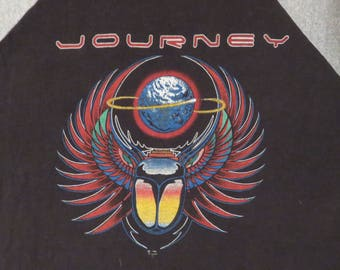 Original vintage JOURNEY 198 tour T SHIRT