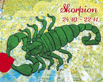 Birthday zodiac sign Scorpio (311)