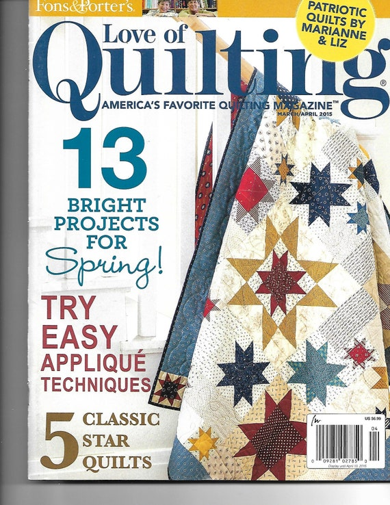 from fons porter magazine and quilting porters spring love quilt baby quilts of designs patterns easy