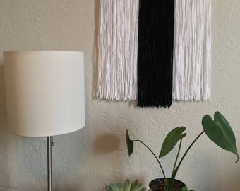 Customizable Small Yarn Tapestry