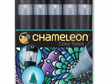 Chameleon Pens-Set of 5-cool tones