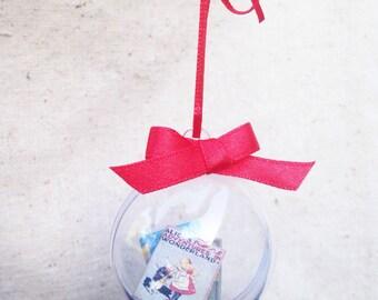 Handmade Custom Your Favorite Book Ornament, Mini Book Ornament