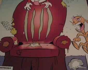 Vintage Ren & Stimpy Show...Dogzilla..#25.. Dec of '9?...  Comic Book***