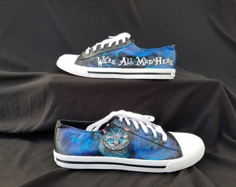 Cheshire Cat Alice in Wonderland  Shoes