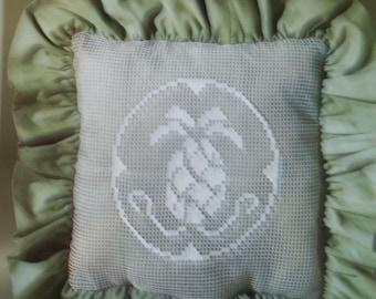 Pineapple Lace Net Darning Pillow Kit