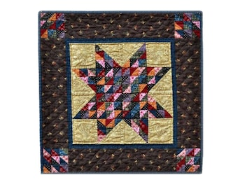 Star City Quilt Pattern PDF Reproduction Traditional Style QRD395