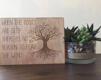 Roots plaque
