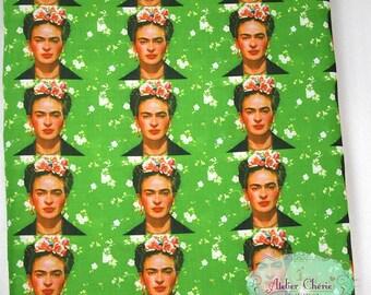 "Tissu imprimé thème ""Frida Kahlo"""