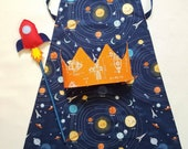 Rockets and space cape, c...