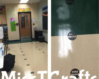 Classroom Floor Number Line
