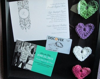 Heart Accents, Wedding Favors, 100 - Made to Order, Custom, Color Choice - US Shipping Included