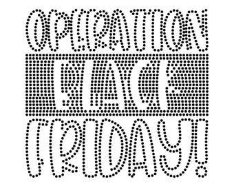 Digi-tizers Black Friday Rhinestone Pattern (SVG Studio V3 JPG)