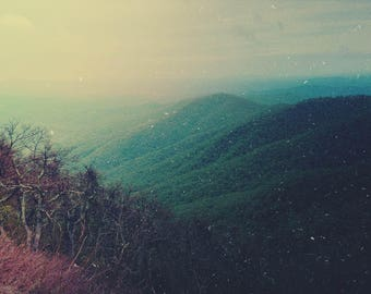 Summer Photograph - North Carolina Art - Mountain Photograph - Nature Photograph - Large Wall Art - Wilderness - Rustic Decor - Green Art