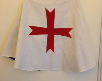 Reversible costume Knight and Templar