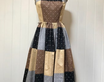 1950s Cotton Day Dress by Cole of California