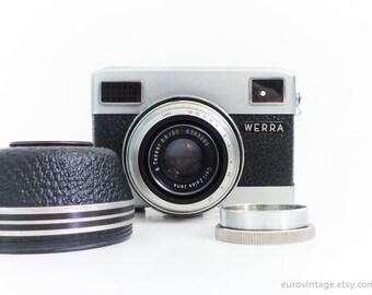 Vintage 35mm Film Camera Werra Rare Camera Werramat Working
