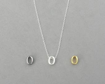 Initial o Necklaces 373