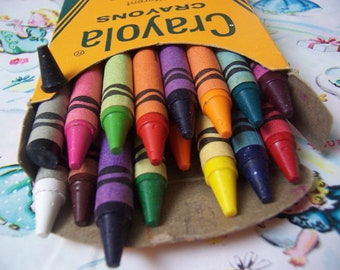 vintage binney and smith crayola crayons