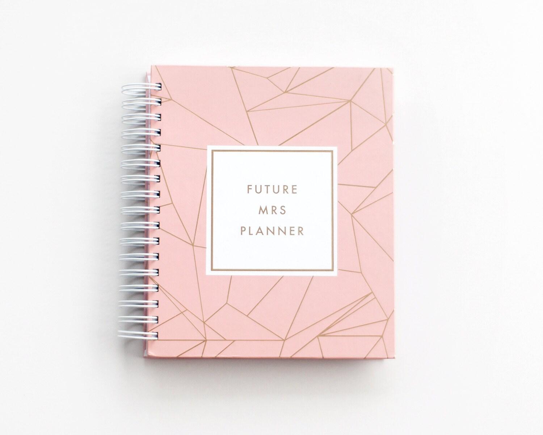 Future Mrs Planner Luxe Wedding Planning Guide Organizer
