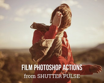 Film Photoshop Actions - Adobe Photoshop Actions