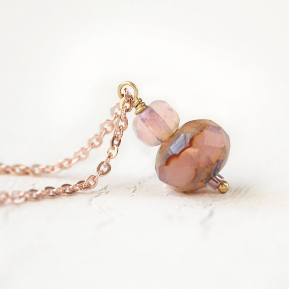 Rose Gold Necklace - Dainty Necklace
