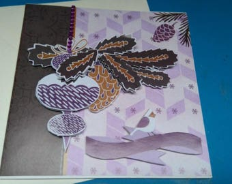 3D 977 hand made greeting card