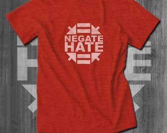 Negate Hate T-Shirt Coexist T-Shirt Men African American T-shirts Africa T shirt Men Clothing racial equality clothing Black lives Matter