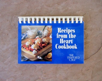Recipes from the Heart Cookbook The Pampered Chef, Pampered Chef Cook Book, 1997 Vintage Cookbook