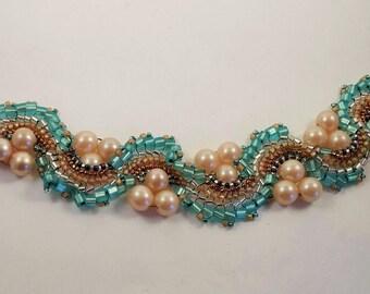 Dragon Dance II Bead Woven Bracelet