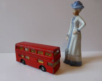 Matchbox red London bus