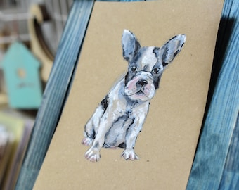 Custom Watercolor Portrait of your pet. Just send me a photo!