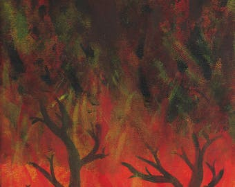 Fire in the Trees