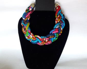 B's braided necklace