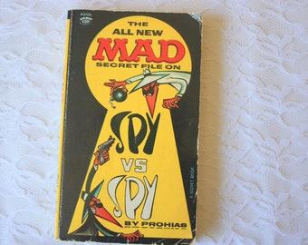 The Mad Secret File on Spy Vs Spy by Prohias, Mad Comics, Mad Book, Vintage Mad Cartoon, Spy Vs Spy Book