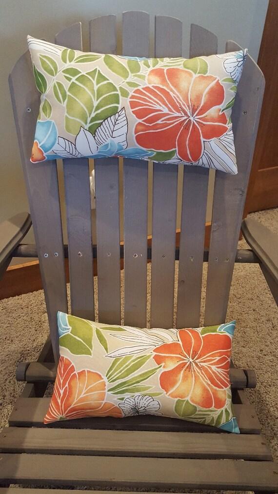Adirondack Chair Head/Neck Pillow Set Of 2