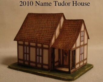 """Robin Betterley Design """"Tudor Dollhouse"""" Kit"""". (M)"""