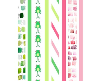 Hop to it! Washi Tape Strips 004