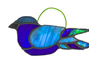 Bluebird Stained Glass