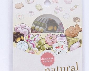 30pcs Kawaii Japanese Sweets Candies PVC Pack