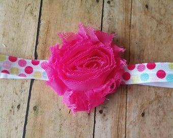 Hot Pink Headband, Baby Headbands, Girl Headband, Baby Girl Headbands, Infant Headbands, Baby Bows