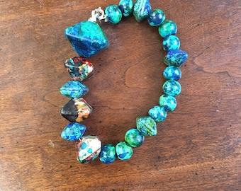 Clip on Costume Handmade Bracelet