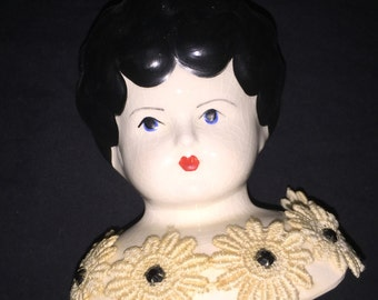 Vintage China Doll Head