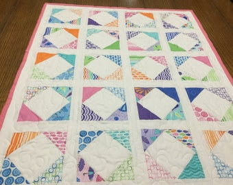 Quilted table cover