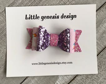 double layer or single layer unicorn bow