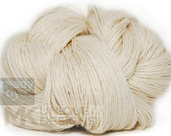 Ready to Dye Alpaca/Silk/Linen Sock Weight Yarn