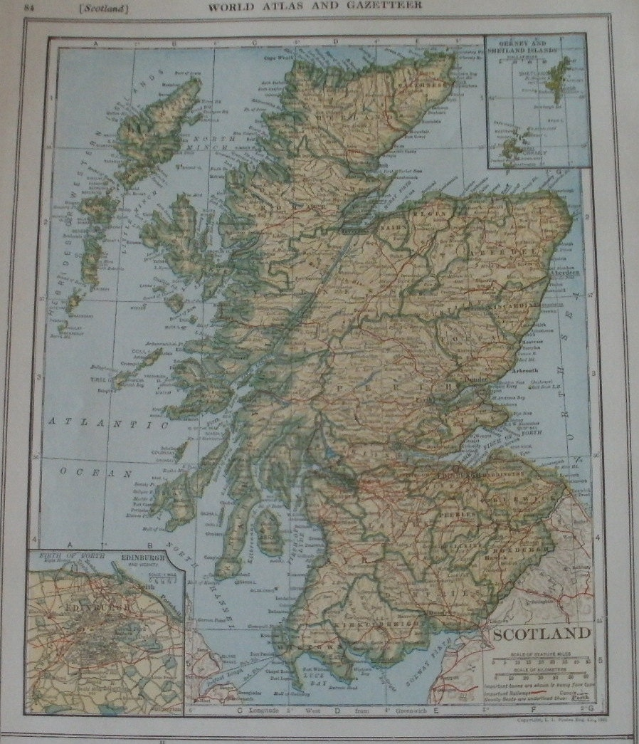 Scotland mapedinburgh glasgow shetland islandsmap in zoom gumiabroncs Choice Image