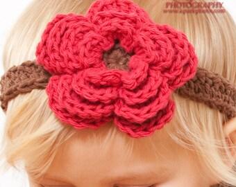 Instant Download - Crochet Pattern - Headband, Flowers, Bows Crochet Pattern (All sizes)