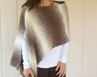 Wrap Crochet PATTERN - Crochet Scarf Pattern - Easy Crochet Pattern - Beginner Crochet Pattern - Scarfie Crochet Pattern