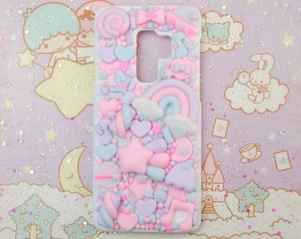 Kawaii Decoden Phone Case for Galaxy, Iphone, Lg, Oppo, Oneplus, Google Pixel, Huawei, Htc, Nokia, Xiaomi, Cute Custom Case for ALL device